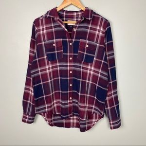 3/$20 Flannel Universal Threads Size S Plaid